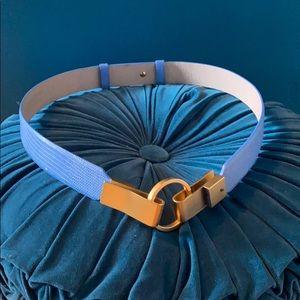 Vintage Baby Blue Carlisle Belt